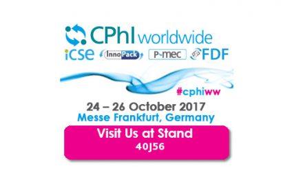 CPhI Worldwide Frankfurt | Octubre 24-26, 2017