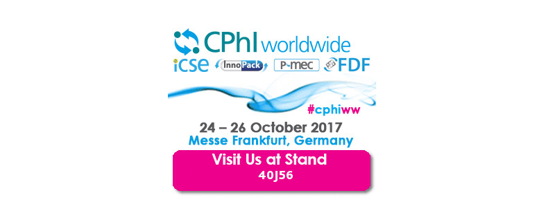 CPhI Worldwide Frankfurt | October 24th-26th, 2017