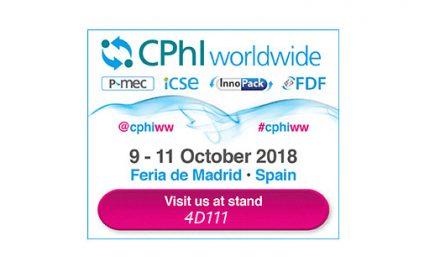 CPhI Worldwide Madrid | October 9th-11th, 2018