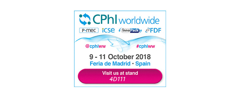 CPhI Worldwide Madrid | October 9th-11th, 2018