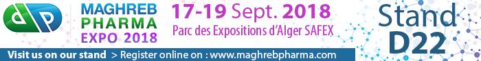 Maghreb Pharma 2018 | September 17-19th, 2018