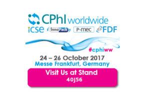 CPhI Worldwide Frankfurt | Octobre 24-26, 2017
