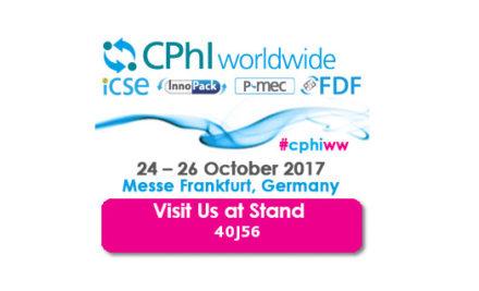 CPhI Worldwide Frankfurt | 24-26 de Octubre, 2017