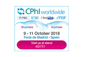 CPhI Worldwide Madrid | Octubre 9-11, 2018