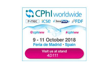 CPhI Worldwide Madrid | 9-11 de octubre, 2018