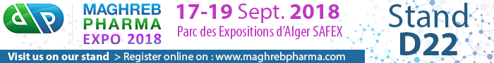 Maghreb Pharma 2018 | Setembre 17-19, 2018